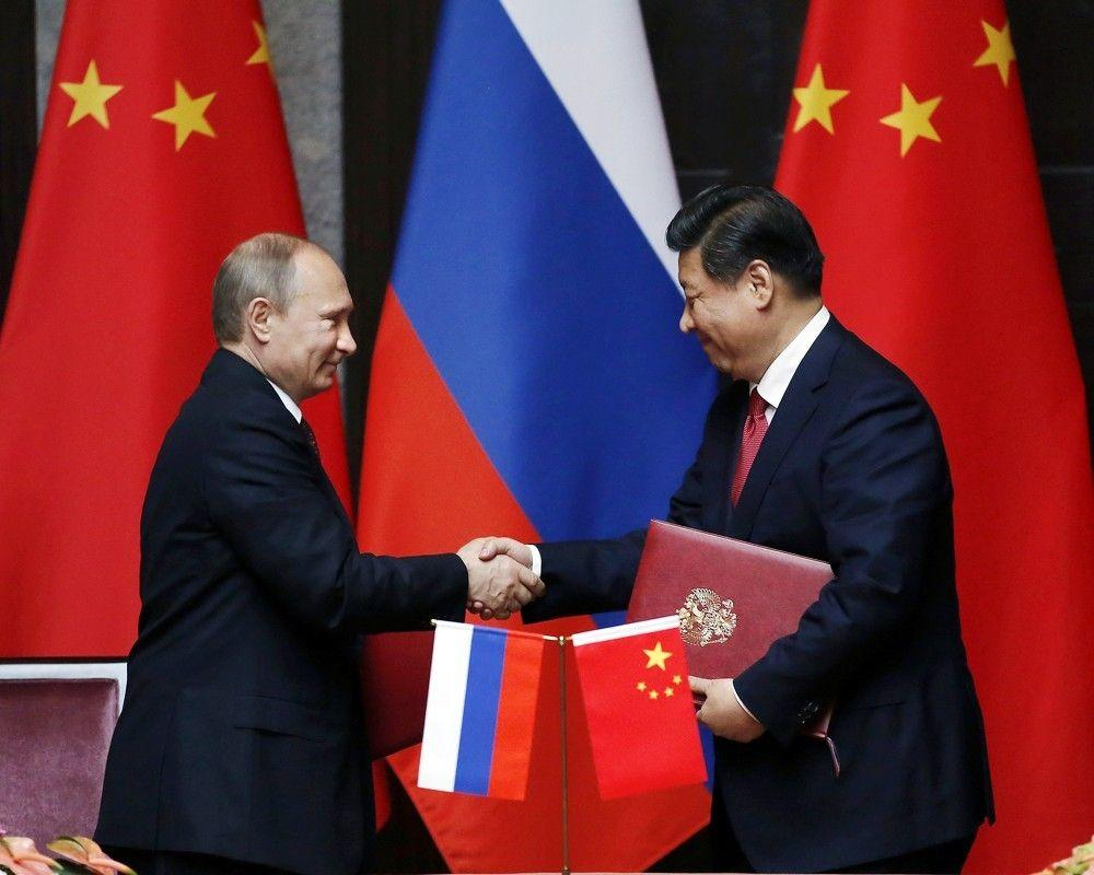 china and russia The united states is preparing for a possible war against china and russia aimed at preventing the collapse of the western banking system, an american political commentator and activist says.