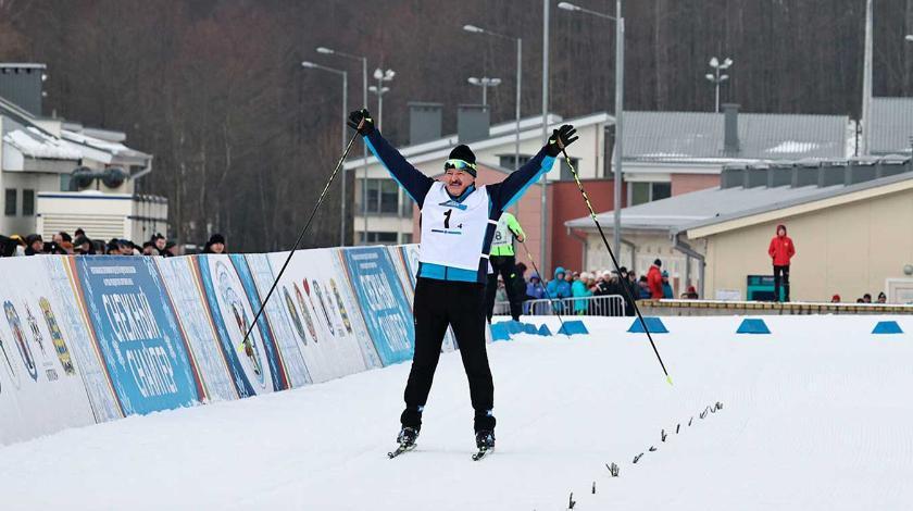 Пресс-секретарь Лукашенко раскрыла, почему упал его соперник на лыжной гонке