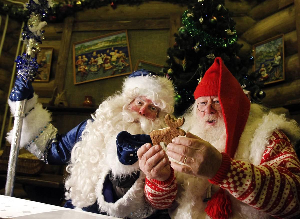 Дед мороз с длинным членом