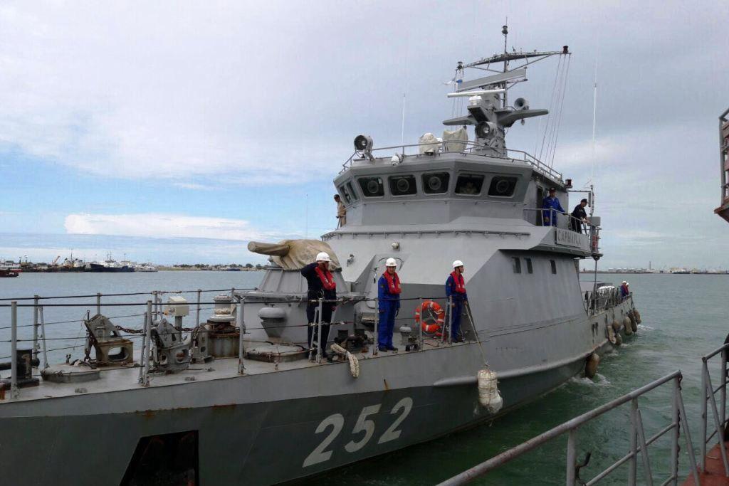 'Военные корабли Казахстана отправились в Иран'/