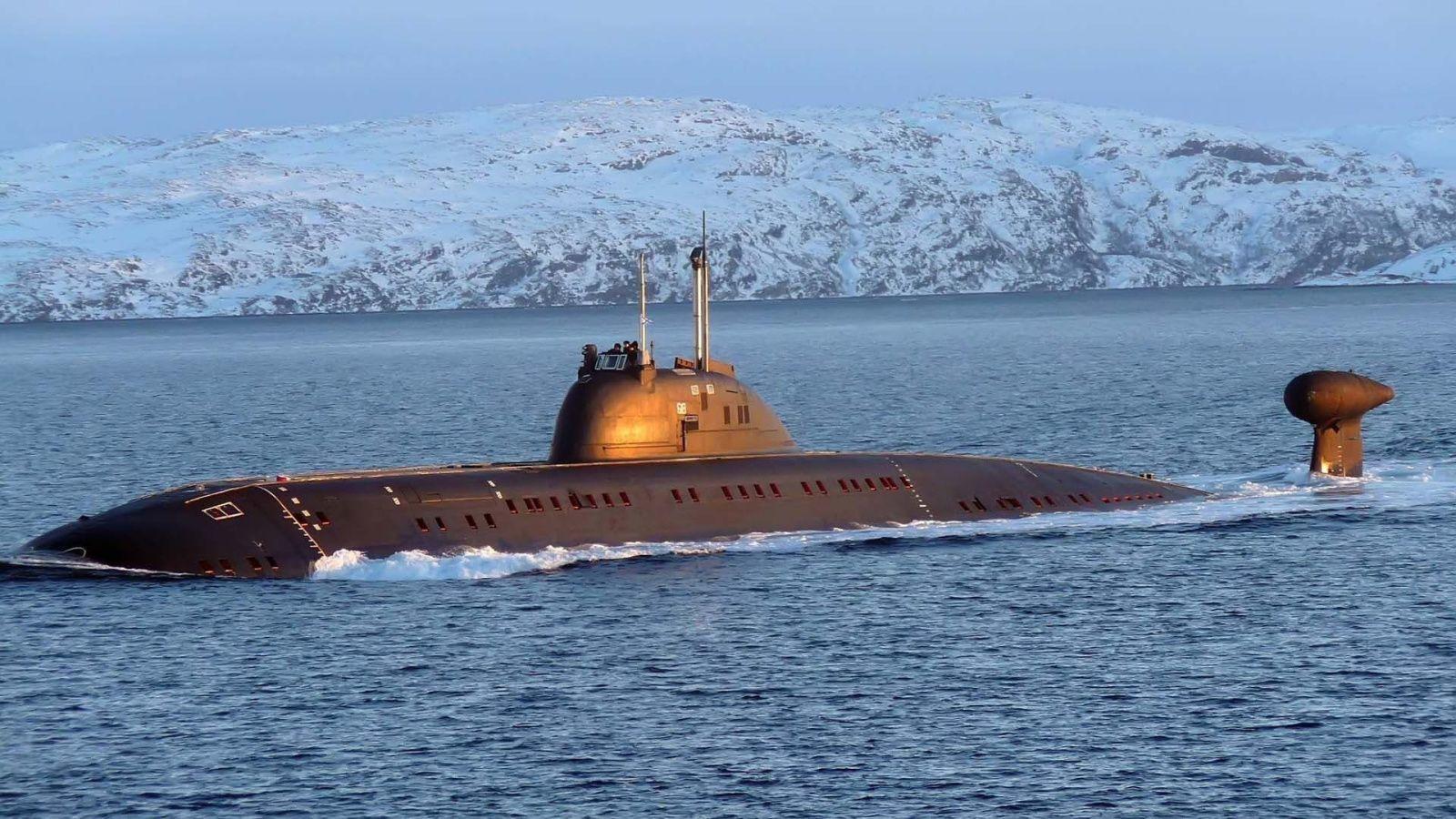 самые большие подводные лодки вмф