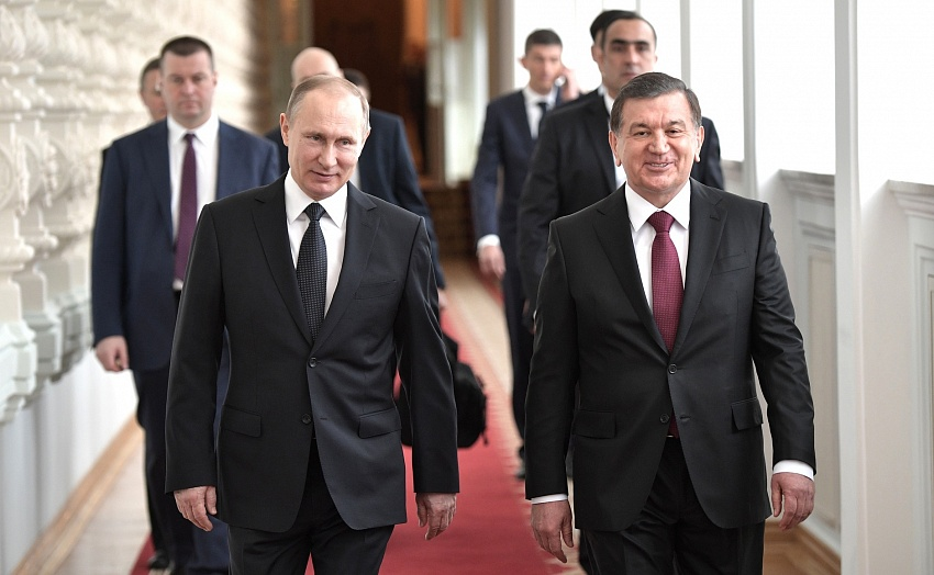 Притчин: визит Мирзиёева в РФ - самый высокий постатусу
