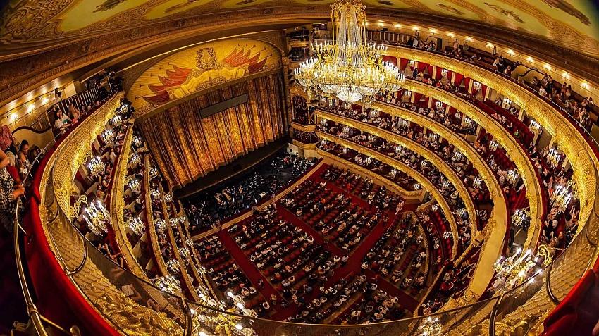 зал театра фото
