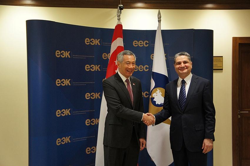 Начата работа по созданию ЗСТ между ЕАЭС и Сингапуром