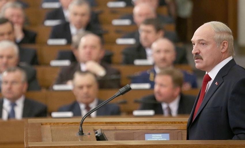 21апреля Лукашенко выступит спосланием кнароду ипарламенту