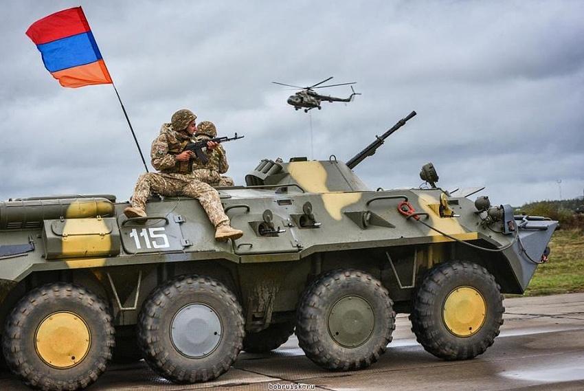 Как работает армяно-российская объединенная группировка войск
