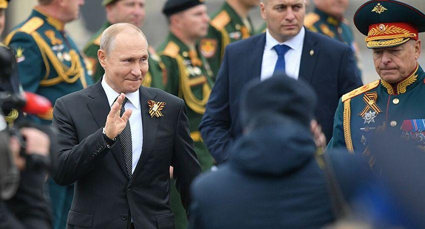 Путин поздравил лидеров и народы бывшего СССР с годовщиной Победы